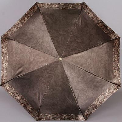 Зонтик с золотистым каркасом и узорами на куполе Trust 32473