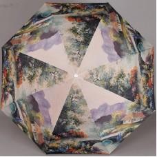 Женский зонт TRUST 33375-1618 Домик в горах