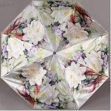 Зонт компактный женский TRUST 42372-50 Белые Розы