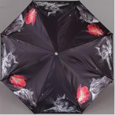 Женский зонт полный автомат TRUST 42372-82 Котики