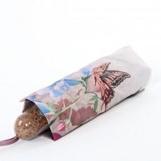 Зонт в четыре сложения (23см, 340 гр) полный автомат Trust 42376-1640 Бабочки в цветах