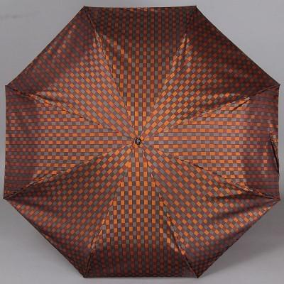 Зонт женский в четыре сложения TRUST FAMM-21X Клетка