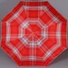 Женский зонт в клетку облегченный TRUST FASML-23X