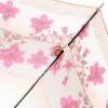 Зонт трость женский H&T H-LAMP-23P Цветочные кантики