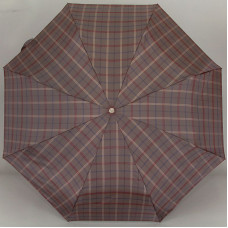 Зонт Trust MFASMI-23X-01 Крупная клетка на сером