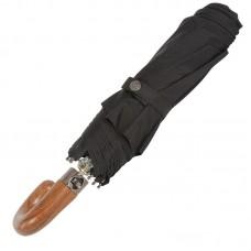 Зонт Trust мужской MSMA-23B Черный J-образная ручка
