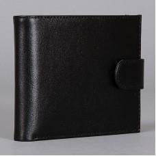 Черный кожаный кошелек Vector ПМ-425-1010