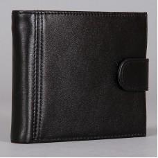 Черный кошелек из натуральной кожи Vector ПМ-428-1010