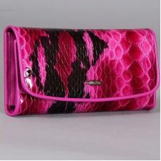 Женское портмоне из кожи покрытой лаком Per Fetto ПЖ-455-2451