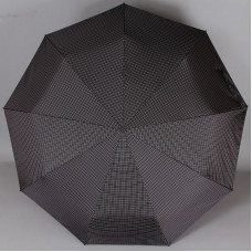 Зонт в клетку с большим куполом ZEST 13953-6