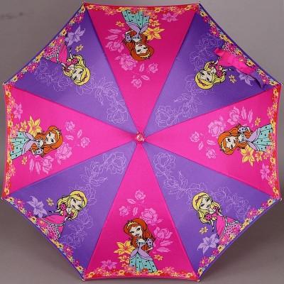 Зонтик детский трость ZEST 21551 Принцессы