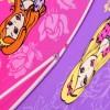 Зонтик детский трость ZEST 21551-287 Принцессы