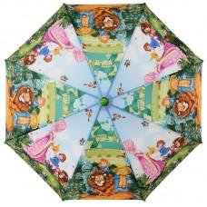 Зонт-трость детский Zest 21565-03 Волшебник изумрудного города 2 клина