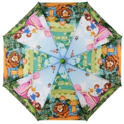 Зонт-трость детский Zest 21565 Волшебник изумрудного города 2 клина
