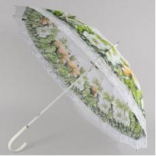 Зонтик трость летний Zest 21572 Летние цветы