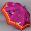 Зонт-трость женский полуавтомат ZEST 21626-8105