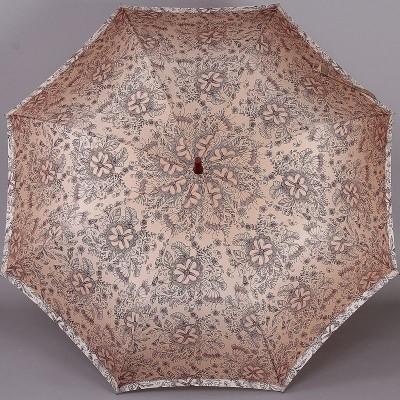 Женский зонт трость Zest Exclusive 21629-1097 Цветочный узор
