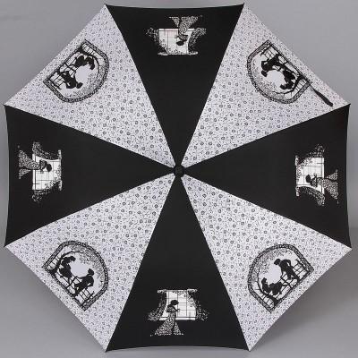 Зонт женский трость Zest 21629-408 Exclusive Поэзия