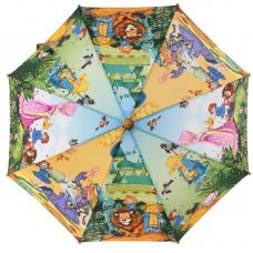 Зонтик детский трость Zest 21665-02 Волшебник Изумрудного города