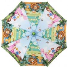 Зонтик детский трость Zest 21665-03 Волшебник Изумрудного города и Друзья