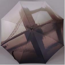Зонт женский трость Zest Exclusive 21685-906 Лондонский туман