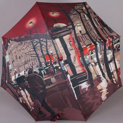 Женский зонт-трость с рисунком на весь купол Zest Exclusive 21685
