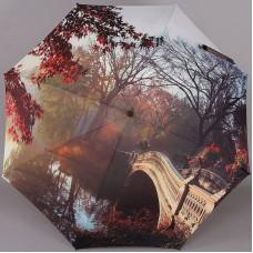 Женский зонт-трость Zest Exclusive 21685-811 с рисунком на весь купол
