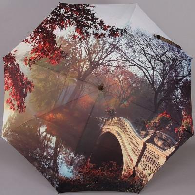 Женский зонт-трость Zest Exclusive 21685 с рисунком на весь купол