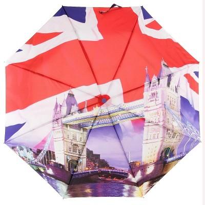 Зонт с полнокупольным рисунком ZEST 23785-907 Тауэрский мост