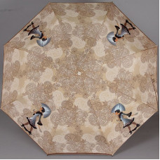 Зонт полуавтомат ZEST 23626-702 Дама с собачкой