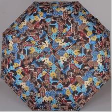 Зонт с двойными спицами ZEST 23715-25 Домики