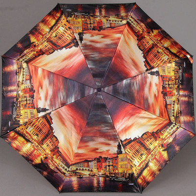 Зонт женский Zest 23744 Вечерняя Венеция