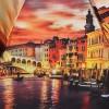 Зонт женский Zest 23744-068 Вечерняя Венеция