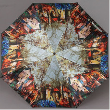 Зонт женский Zest 23744-040 Домики