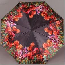 Женский зонтик Zest 23744-2987 Цветочная лужайка