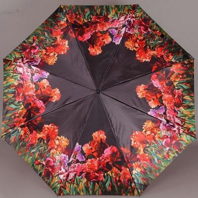 Женский зонтик Zest 23744 Цветочная лужайка