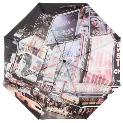 Зонт с рисунком на весь купол ZEST 23785 Ритм ночного города