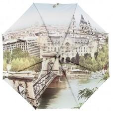 Женский зонт с рисунком на весь купол ZEST 23785-838 Набережная