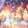 Зонтик женский ZEST 23815-8009 Прекрасная осень