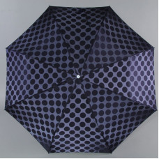 Зонт женский Zest Exquisite 23843-03 горох на синем
