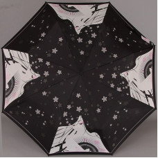Женский зонтик Zest 23846-9112 Девушка с веером