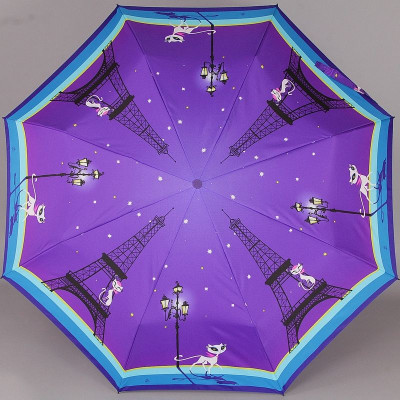 Женский зонтик Zest 23846 Кокетка в Париже