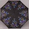 Зонт Zest женский 23846-155 Бабочки на черном