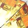 Женский зонтик Zest 23846-300 Цветочки в орнаменте