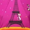 Зонт женский Zest 23846-8105 Кокетка в Париже