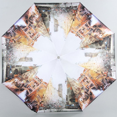 Зонт женский Zest 23955 Рисованная Венеция