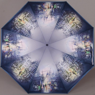 Компактный зонт женский Zest 23955 Городские будни