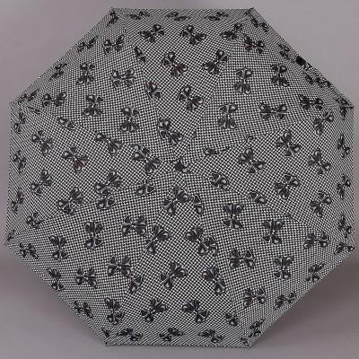 Зонт женский в бантиках на куполе ZEST 23957-222