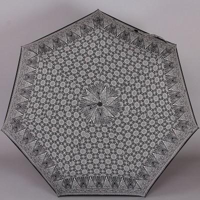 Женский зонт с узорами на куполе ZEST 23958-116