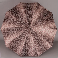 Женский зонт 10 спиц с узорами на куполе ZEST 239666-063